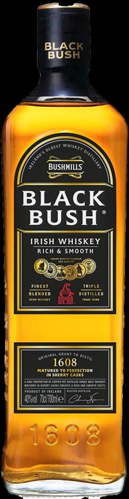 black bush irish whisky