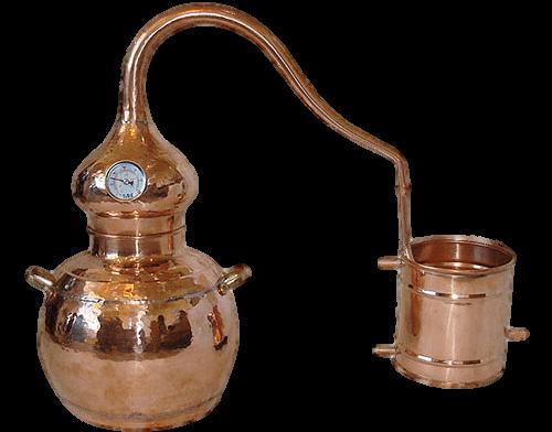 alambique ginebra