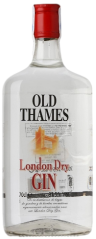 Old Thames Dry Gin-Carrefour